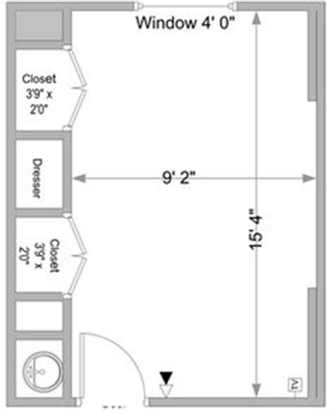 typical biography layout here is a sle floor plan of a typical warde hall room