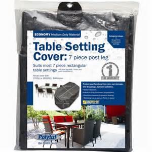 Bunnings Warehouse Car Covers Polytuf 7 Post Leg Furniture Setting Cover