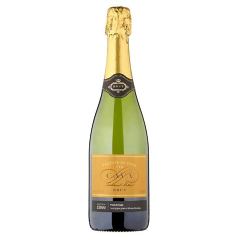 tesco cava brut non vintage 75cl groceries tesco groceries