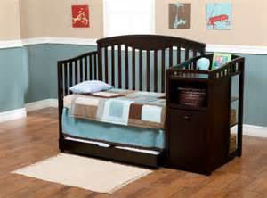 modern and stylish delta shelby crib and changer for the