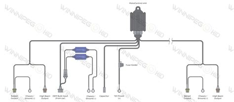 xenon headlights wire diagram 29 wiring diagram images