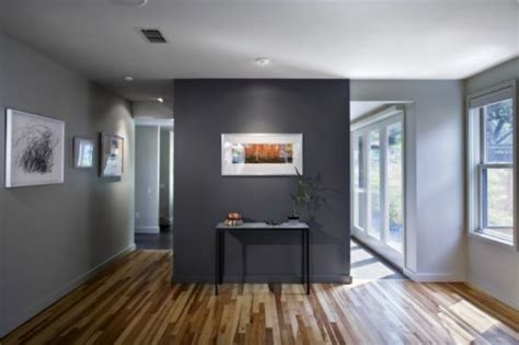 Grey Accent Wall by How To Use Paint To Add Character To Your Home