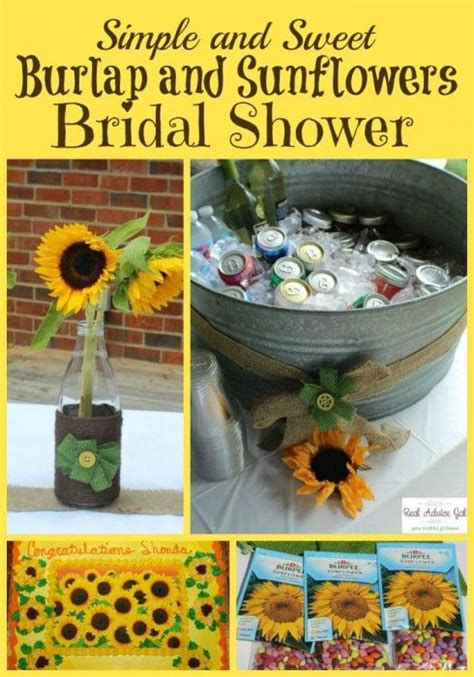 Sunflower Themed Bridal Shower Ideas by 17 Best Images About Bridal Shower Sunflower Theme On