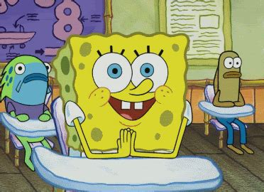 spongebob squarepants gif find share  giphy