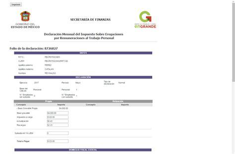pagos e inpuestos del edo mex impuesto sobre n 243 minas en el edomex idc