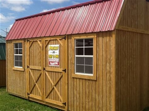 Rent To Own Sheds In Indiana by Sheds For Sale In Muncie The Barn Lot Amish Built