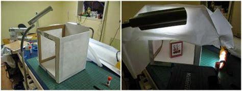 Lu Mini Studio 6 Watt mini studio dari kardus bekas gp pancaran kasih depok