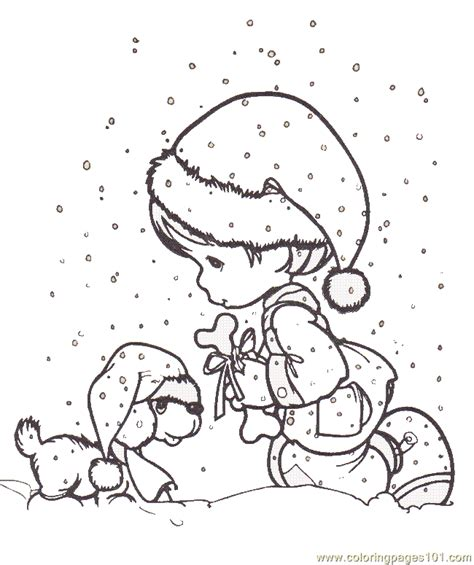 Detailed Christmas Coloring Pages Coloring Home