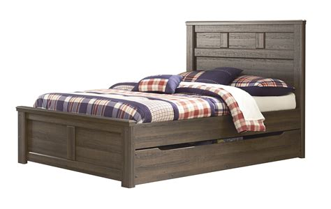ashley furniture full bed ashley furniture juararo full panel bed with under bed