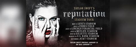 taylor swift reputation tour lineup taylor swift web your online resource for everything