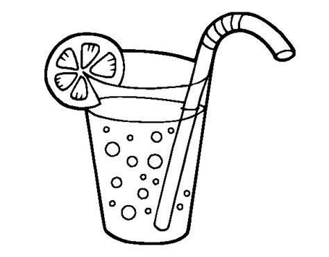 bicchieri da colorare disegno di bicchiere di soda da colorare acolore