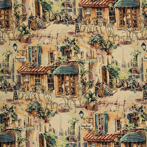 italian upholstery italian cafe outdoor seating themed tapestry upholstery