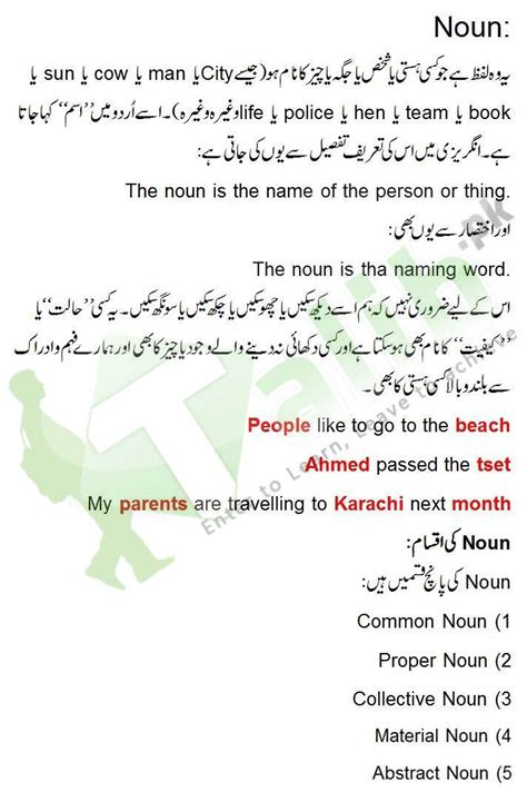 abstract nouns definition noun definition and exles in urdu kinds of noun