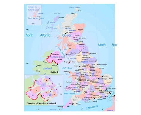 map of the united kingdom with major cities maps of united kingdom detailed map of united kingdom in