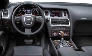 2007 Audi Q7 Interior Car And Driver