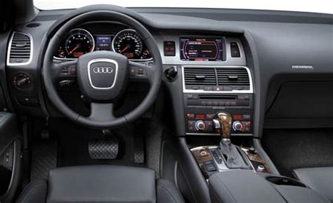 Q7 Interior by Car And Driver