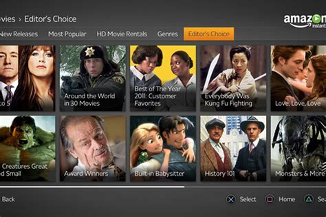 amazon movie amazon prime instant video adds a e history and lifetime
