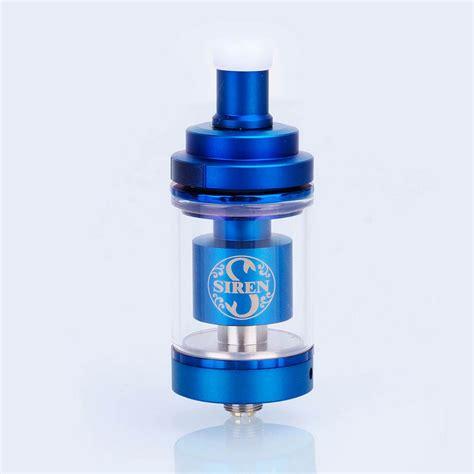 Siren 2 Rta 22mm Authentic By Digiflavor Atomizer For Vaporizer Vape authentic digiflavor siren v2 rta blue 4 5ml 24mm tank atomizer