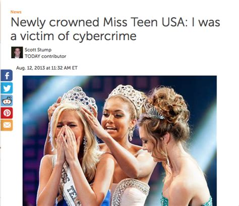 Miss Usas Crimes Against by New Miss Usa Talks About Being A Victim Of Cybercrime
