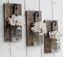 Wall Hanging Sconces Rustic Farmhouse Knotty Pine Wood Wall Decor 3