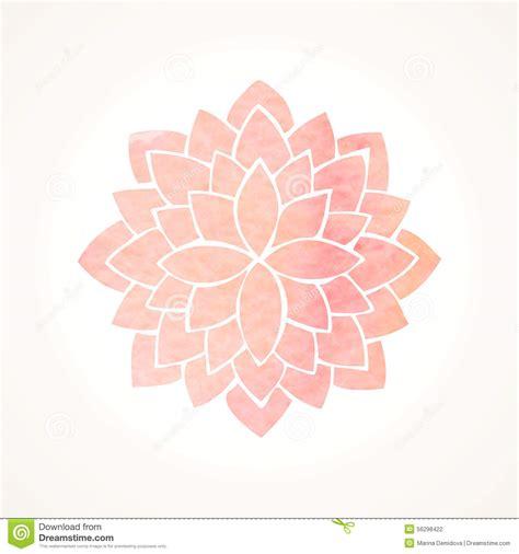 free lotus background pattern watercolor pink flower pattern silhouette of lotus
