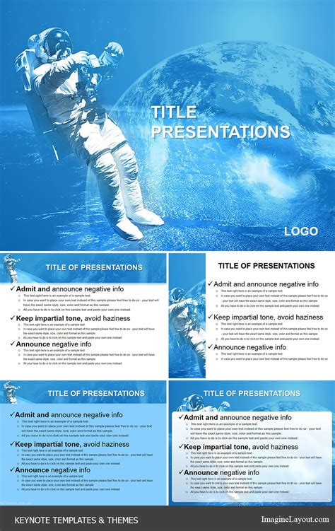 keynote theme space flying in space keynote themes templates imaginelayout com