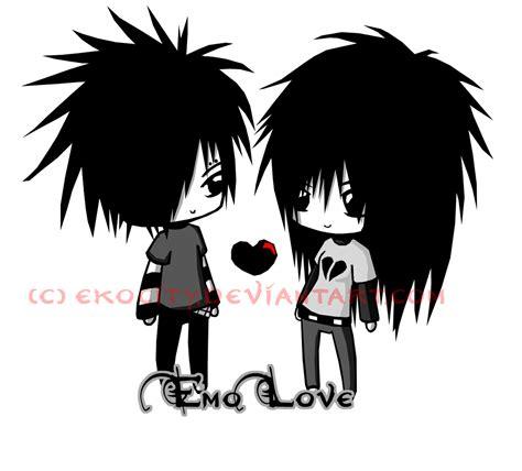 cartoon emo hairstyles cute emo couples cartoons emo love emo 8825329 1300 1175