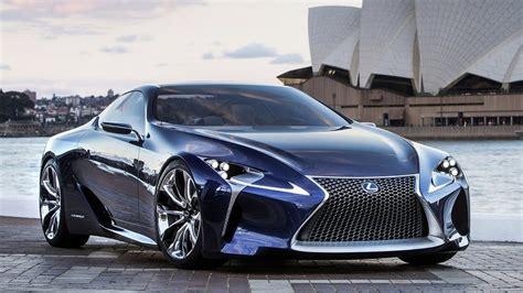 lexus lf lc blue hybrid concept  hp youtube
