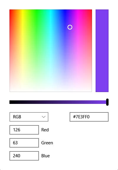 color picker how to effectively use the colorpicker around