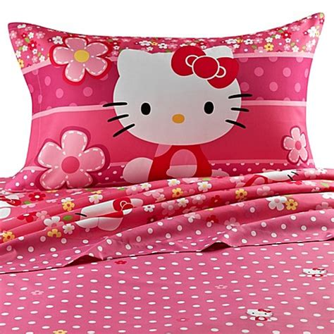 hello kitty twin bed buy hello kitty twin sheet set from bed bath beyond