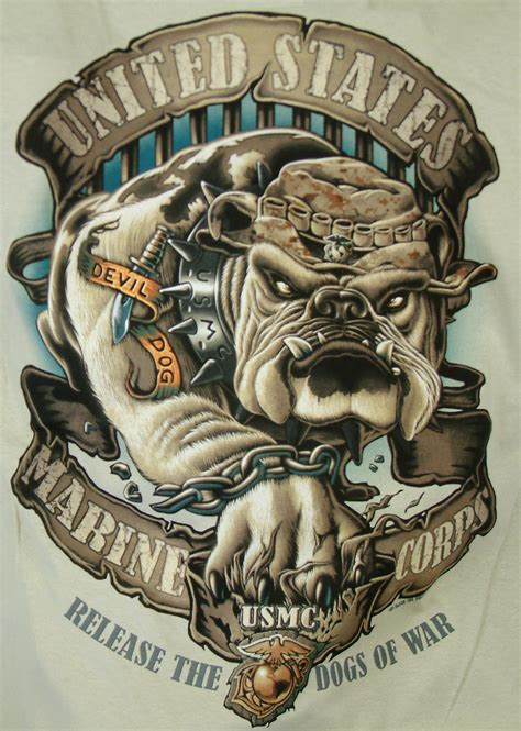 marine corps order on tattoos usmc bulldog t shirt