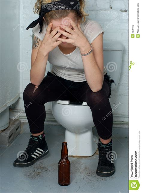girls in public bathroom drunk girl in a public toilet stock photos image 1579013