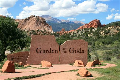 Can You Visit Garden Of The Gods In Winter Garden Of The Gods Colorado Us Feel The Planet