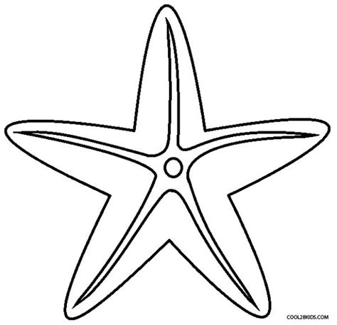 printable starfish coloring pages printable starfish coloring pages for kids cool2bkids