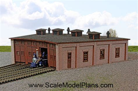 scale model house plans o scale engine house plans house style ideas