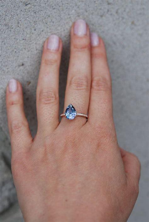 Tanzanite Engagement Rings by Tanzanite Ring Gold Engagement Ring Lavender