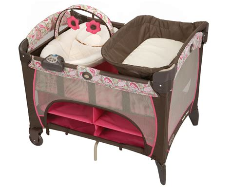 Graco Pack And Play With Bassinet And Changing Table New Graco Pack N Play Pen Playard Bassinet Napper Station Dlx Jacqueline Peyton Ebay