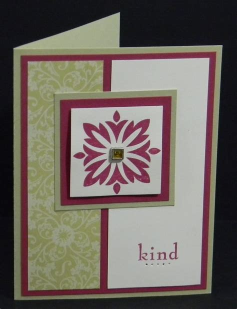 Handcrafted Greeting Card Ideas - a of stin up baroque motifs handmade greeting