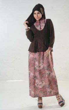 Gamis Katun Minyak Kombinasi gamis on baju kurung muslim and polo