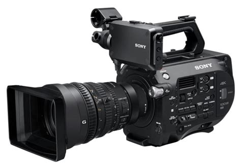 sony video camaras sony fs7 launched portable super35 4k camera exclusive