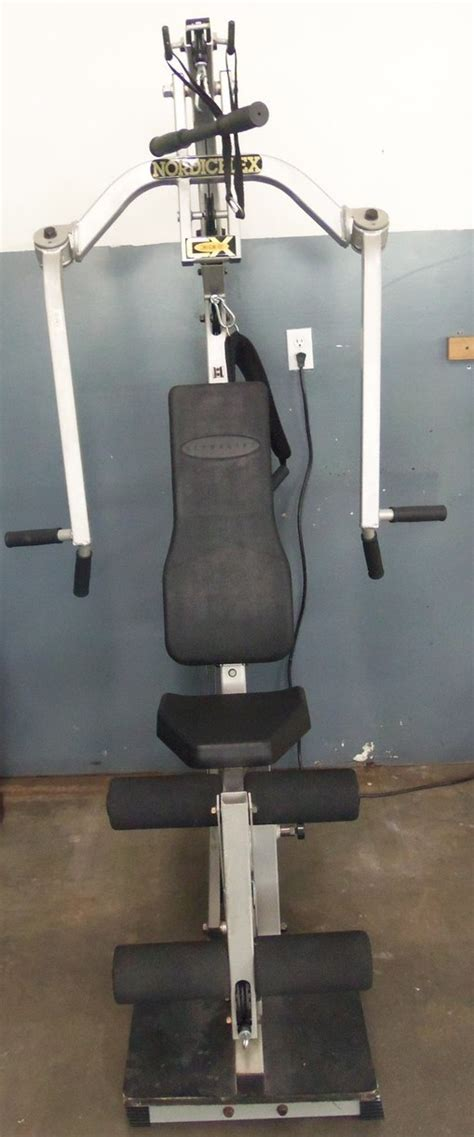 nordicflex cx ultralift home exercise machine ebay