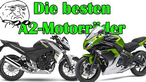 Motorrad F R A1 Kaufen by Die 2 Besten Anf 196 Nger Motorr 196 Der A2 Klasse 2016