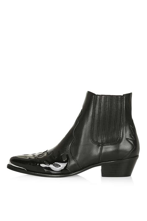 arson western ankle boots topshop