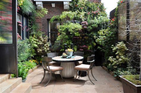 outdoor courtyard birds of prey courtyard garden by living green