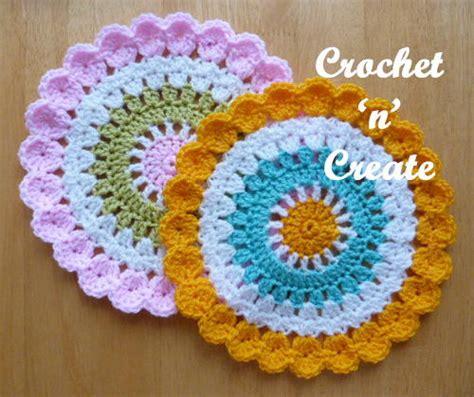 Crochet Table Mats - mandala table mat allfreecrochet