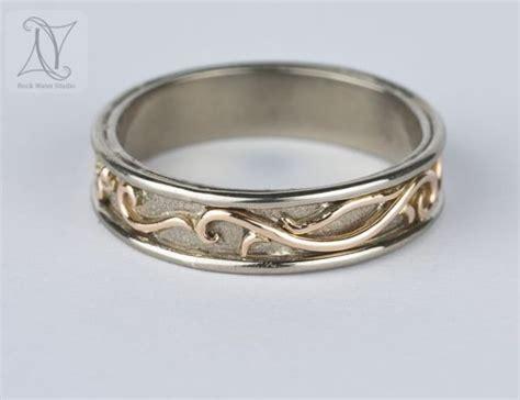 Handmade White Gold Rings - white gold om wedding ring