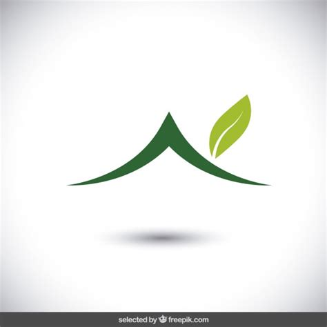 Eco House Logo Vector Free Download Eco Vectors Photos And Psd Files Free