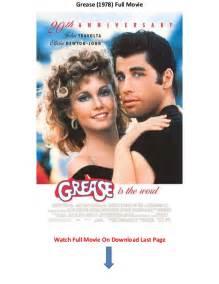 watch grease 1978 online free solarmovie grease 1978 watch free online movie trailers without