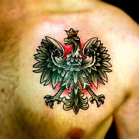 polish eagle tattoo girl polish eagle tattoos