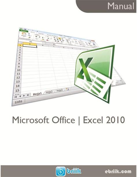 Manual Microsoft Excel 2010 Pdf | pdf de programaci 243 n manual microsoft office excel 2010